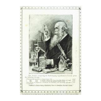Advertisement for 'Cadbury's Cocoa' Canvas Print
