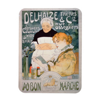 Advertisement for Delhaize, Brothers and Co. at th Magnet
