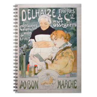 Advertisement for Delhaize, Brothers and Co. at th Note Books