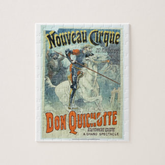 Advertisement for 'Don Quixote, New Circus', Horse Jigsaw Puzzle