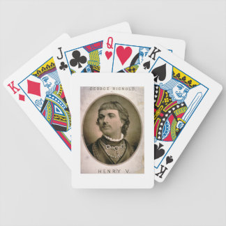 Advertisement For 'George Rignold as Henry V' (col Bicycle Playing Cards