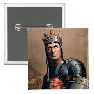 Advertisement for 'John McCullough as Richard III' Buttons