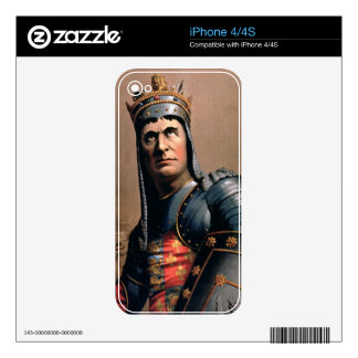 Advertisement for 'John McCullough as Richard III' iPhone 4S Skin