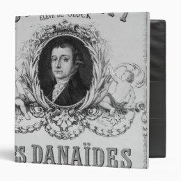 Advertisement for 'Les Danaides' 3 Ring Binder
