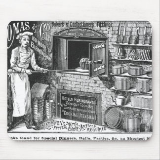 Advertisement for Lomas and Co. Mouse Pad