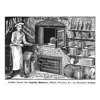 Advertisement for Lomas and Co. Postcard