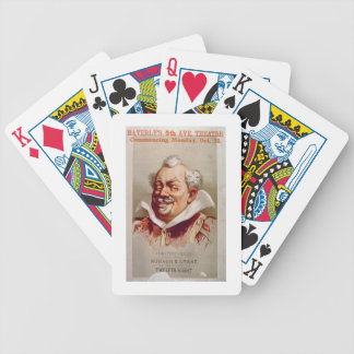 Advertisement for Robson & Crane's 'Twelfth Night' Bicycle Playing Cards