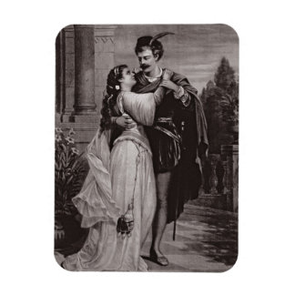 Advertisement for 'Romeo And Juliet', at the Opera Rectangular Photo Magnet