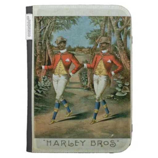 Advertisement for the 'Harley Brothers' (colour li Kindle 3G Cover