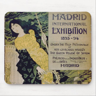 Advertisement for the 'Madrid International Exhibi Mouse Pad