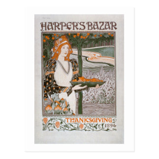 Advertisement for the Thanksgiving edition of 'Har Postcard