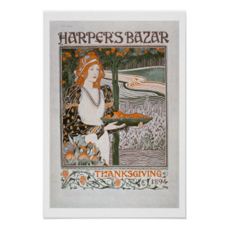 Advertisement for the Thanksgiving edition of 'Har Poster