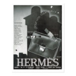 Advertisement,  Hermes Post Card