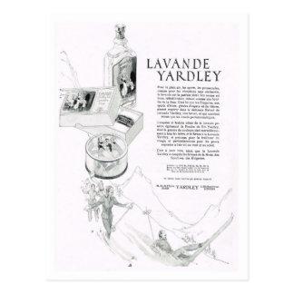 Advertisement, Lavande Yardley Postcards