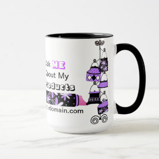 Advertisement Mug