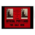 Advertisement of McKinley's Last Speech 1907 Cards