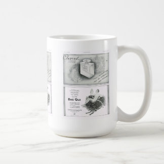 Advertisement, Perfume and underwear Coffee Mug