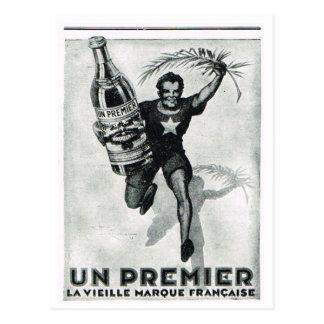 Advertisement,  Un Premier Postcard