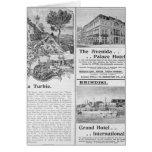 Advertisements for La Turbie Restaurant, Card