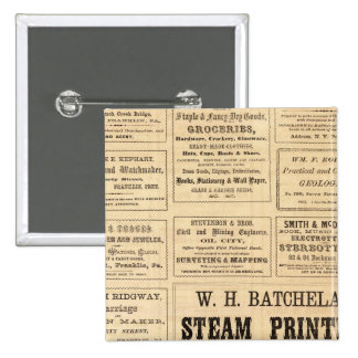 Advertisements for oil button