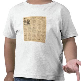 Advertisements Tshirts