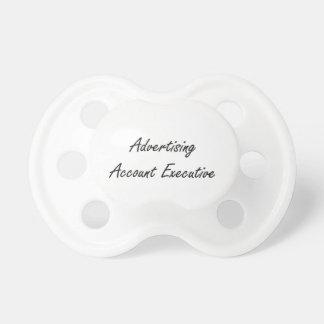 Advertising Account Executive Artistic Job Design BooginHead Pacifier