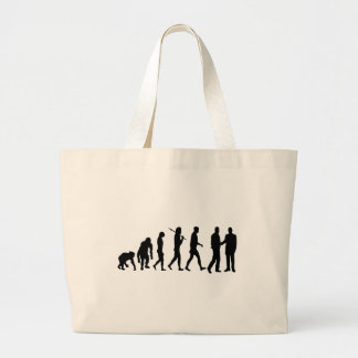 Advertising and Marketing mens and womens work Large Tote Bag