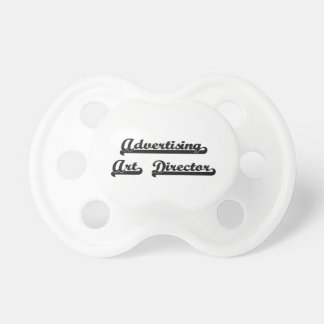 Advertising Art Director Classic Job Design BooginHead Pacifier