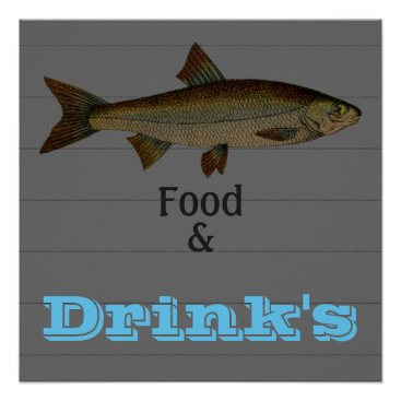 Professional Business Advertising_Business-Poster's_Fish_Template Poster
