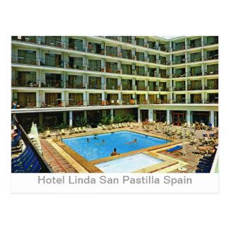 Advertising  card Hotel Linda San Pastilla Spain
