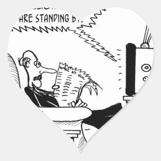 Advertising Cartoon 2133 Heart Sticker