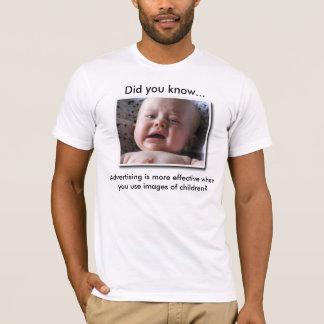 Advertising Children T-Shirt