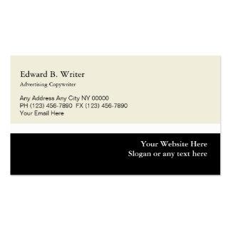 Advertising Copywriter Business Cards