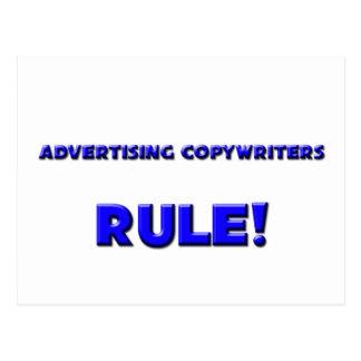 Advertising Copywriters Rule! Postcards