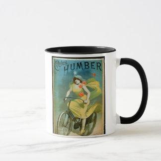 Advertising for 'Humber Cycles' (colour litho) Mug