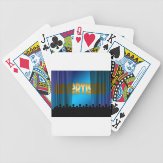 Advertising Image Bicycle Playing Cards