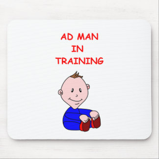 advertising mouse pad