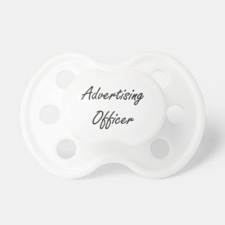 Advertising Officer Artistic Job Design BooginHead Pacifier