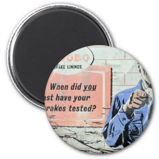 advertising-sign-plate 2 inch round magnet