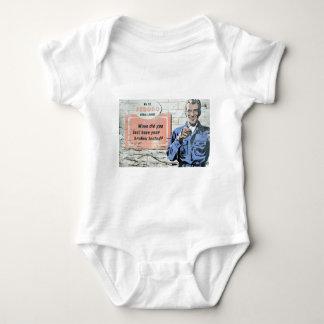 advertising-sign-plate baby bodysuit