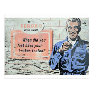 advertising-sign-plate postcard