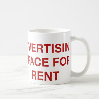 Advertising Space For Rent Coffee Mug