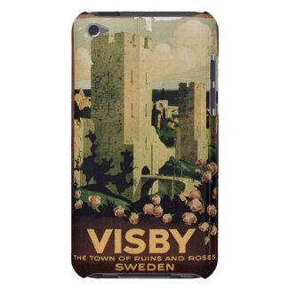 advertising the town of Visby, Sweden (colo Barely There iPod Cover