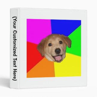 Advice Dog Advice Animal Meme 3 Ring Binder