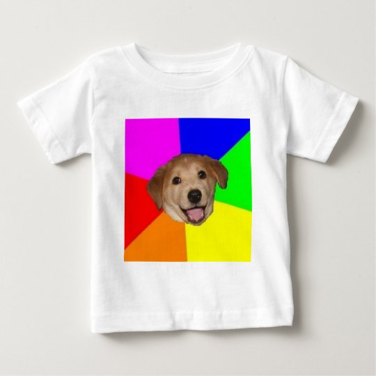 Advice Dog Advice Animal Meme Baby T-Shirt