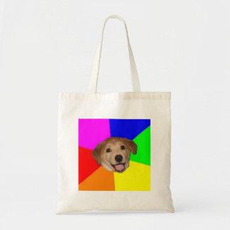 Advice Dog Advice Animal Meme Tote Bags