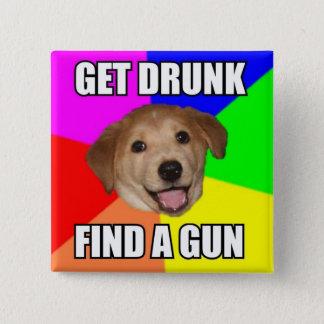 Advice Dog Button