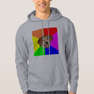 Advice Dog Hooded Sweatshirt