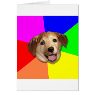 Advice Dog Meme Any Way You Want! Greeting Card