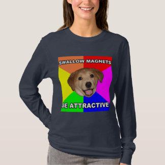 Advice Dog on Magnets T-Shirt